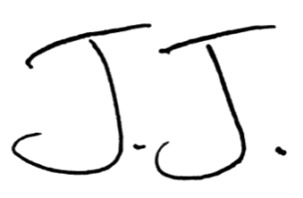 JJ Abodeely's signature