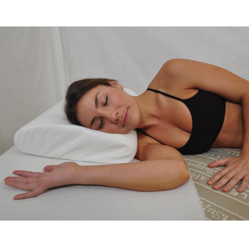 A pillow that helps prevent snoring, wrinkling, all while providing superior comfort