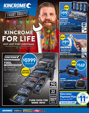Kincrome Sale Catalogue | Just Tools