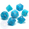 Dice set - Cirrus Aqua 7-pieces