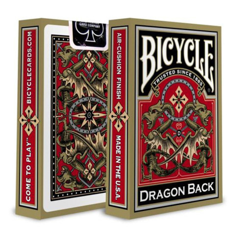 Dragon Back Bicycle Playing Cards