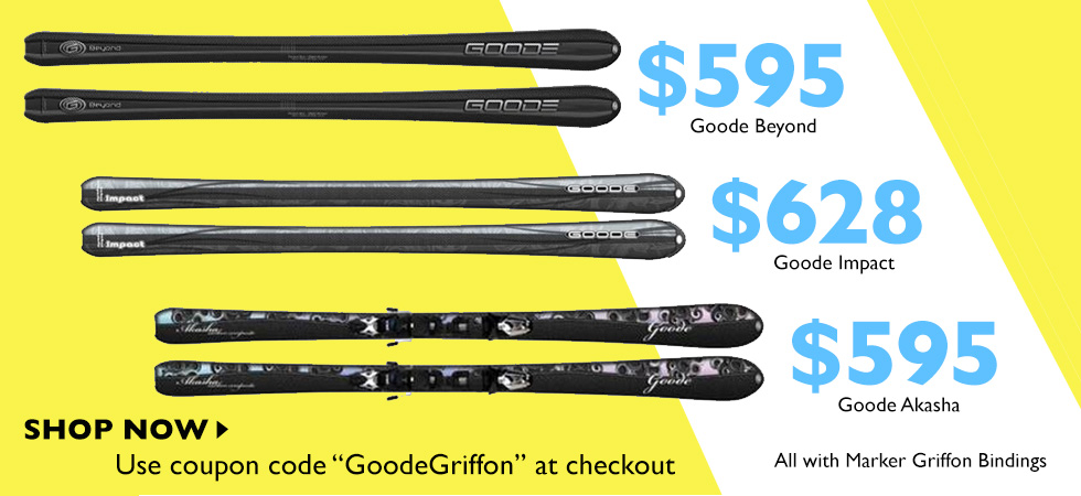 Goode Skis & Marker Griffon Package On Sale