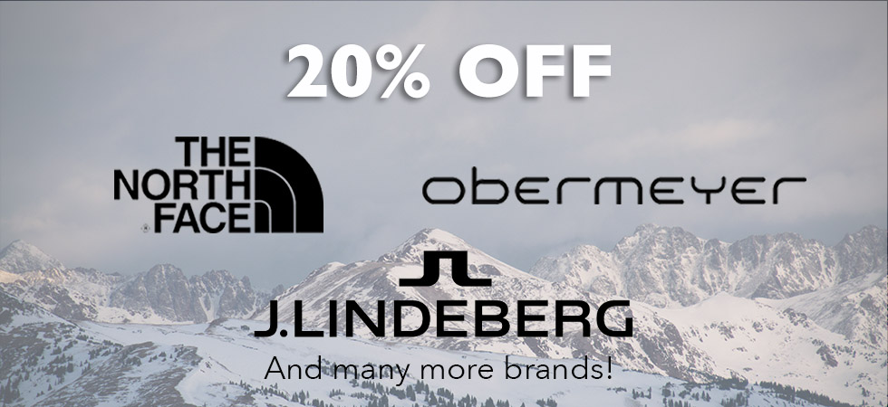 20% Off Select Brands