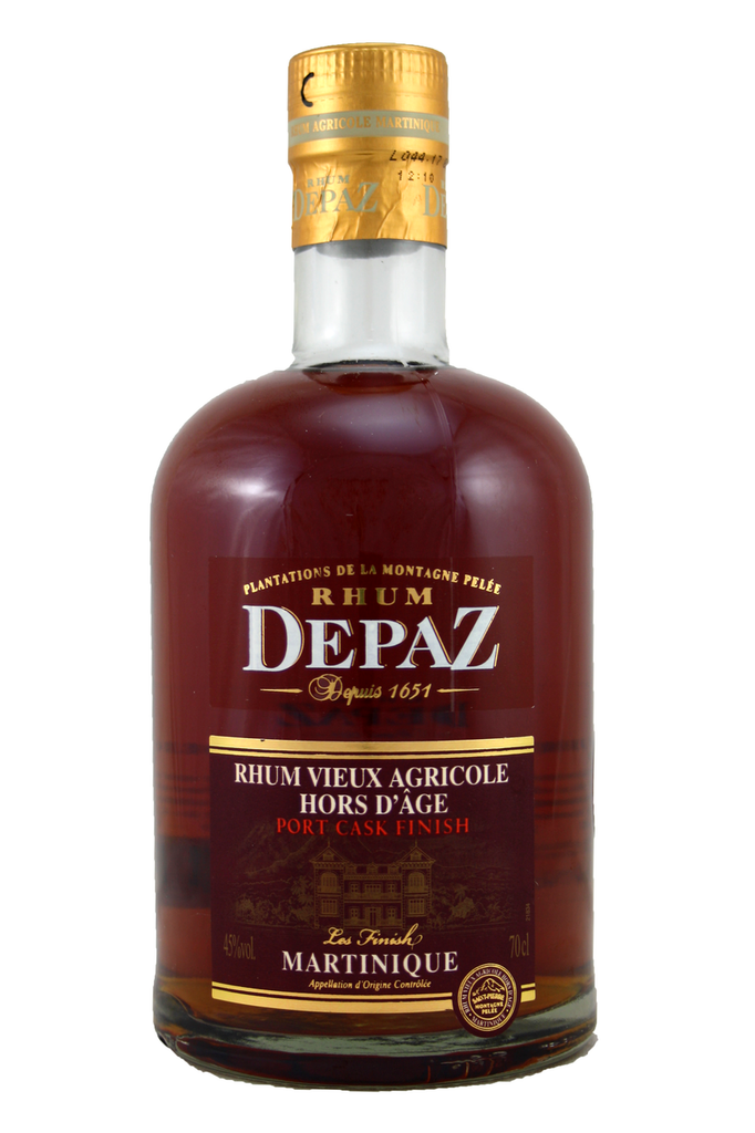 Aged rum is matured for at least eight years in selected small oak barrel.