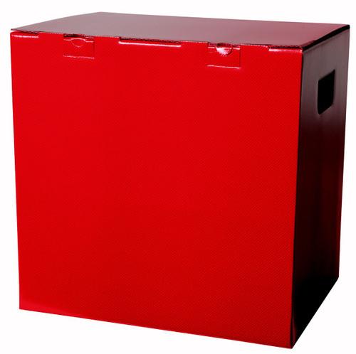 12 Bottle Wine Gift Box Red