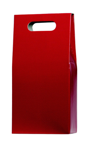2 Bottle Presentation Box Red