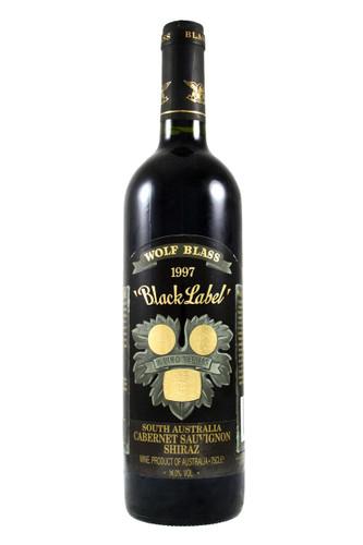 Black Label 1997 Wolfblass Cabernet Sauvignon Shiraz