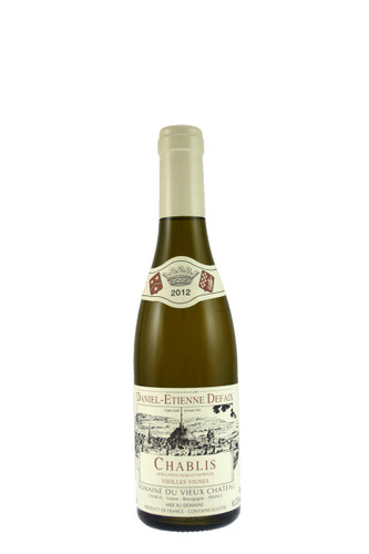 Chablis Vieilles Vignes Daniel Etienne Defaix Half Bottle 2012