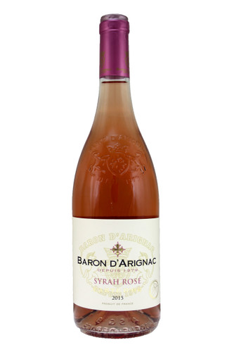 A very round, rich and pleasing rose wine, supple without bitterness.