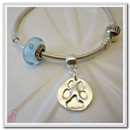 Pet Pawprint Charm