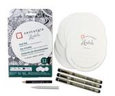 50113 Sakura Zentangle 11 pcs set