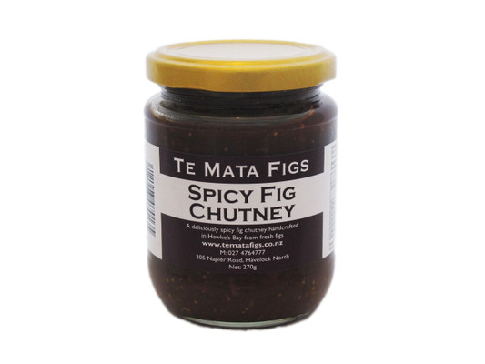 Te Mata Figs Spicy Fig Chutney