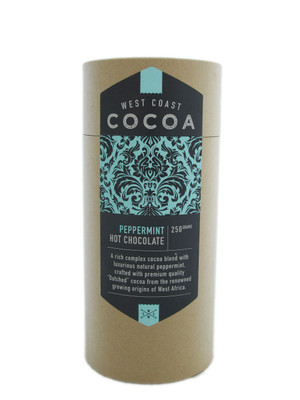 West Coast Cocoa Peppermint Hot Chocolate