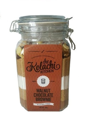 The Kolachi Kitchen Baking In Jar Walnut Chocolate Brownie
