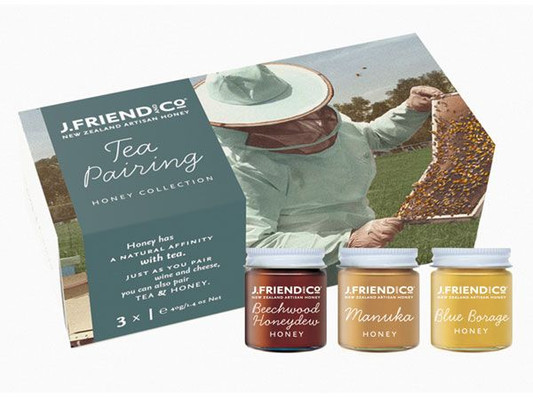 J.Friend and Co Honey - Tea Pairing Collection