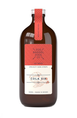 Six Barrel Soda Syrup - Cola Six