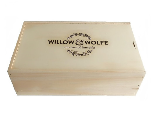 Wooden Box including delivery