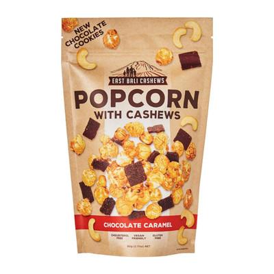 East Bali Cashews Popcorn - Chocolate Caramel