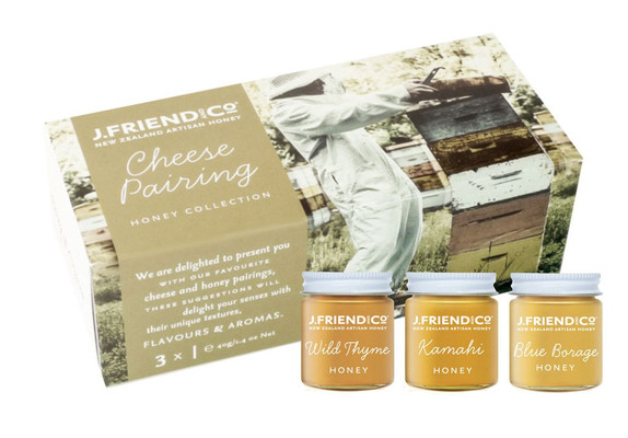 J.Friend and Co Honey - Cheese Pairing Collection