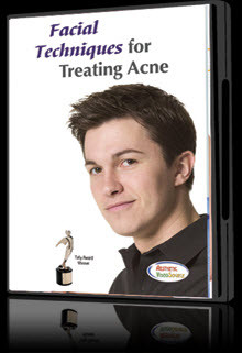 Dvd facial techniques for treating acne a1a facial for A1a facial and salon equipment