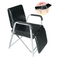 Shampoo Chair with Leg Rest