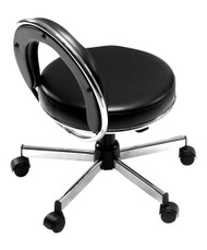 Black Pibbs 549 JoJo Pedicure Stool adjustable from 15  to ...  sc 1 st  A1A Facial u0026 Salon Equipment & Technician Stools - Pedicure Tech Stools - A1A Facial u0026 Salon ... islam-shia.org