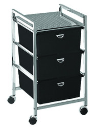 Pibbs 3 Drawer Trolley D23
