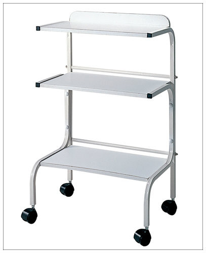 Trolley with 3 shelves a1afacial for A lenox nail skin care salon