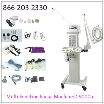 Multi function facial machine digital facial steamer a1afacial for A lenox nail skin care salon