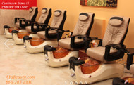 Continuum Bravo LE Pedicure Spa Chair