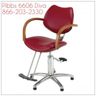 Pibbs Diva 6606 Styling Chair
