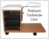Technician Pedicure Cart