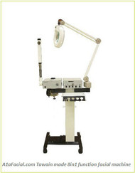 Facial Steamer, Mag lamp, Woods Lamp,  Hi Frequency, Galvanic, Brush, Vac&Spray, T-214