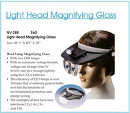 Head Lamp Magnifying Glass