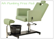 Pibbs PS13 NAPOLI Pedi Station Plumbing Free Spa