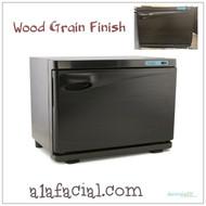 Wood Grain Finish Towel Warmer
