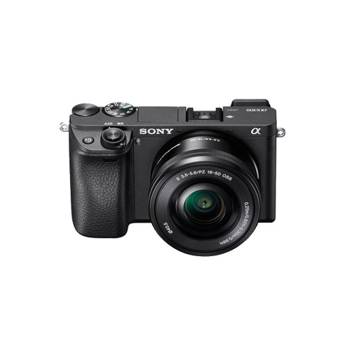 Sony A6300 16-50mm F3.5-5.6 Lens Kit Black
