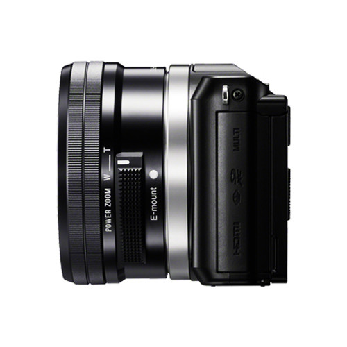 Sony A5000 16-50mm F3.5-5.6 Kit Black