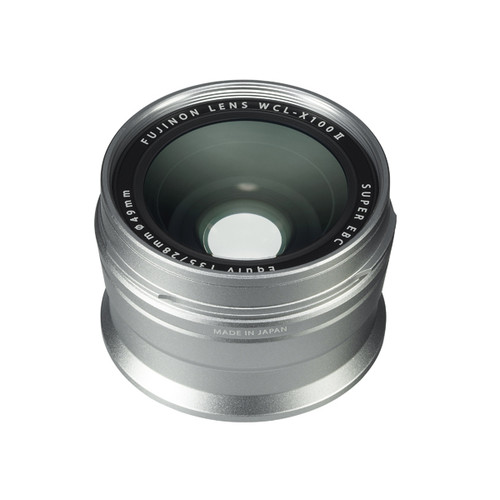 Fujifilm WCL-X100 Wide Conversion Lens II Silver