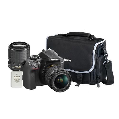 Nikon D3400 Dual Lens Hard Bundle
