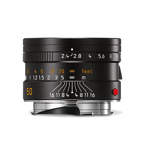 Leica Summarit-M 50mm F2.4 Black