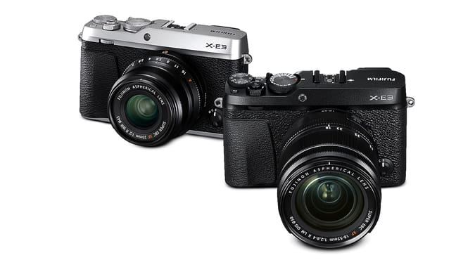 Fujifilm Announces New X-E3 and XF 80mm Macro, GFX 45mm Lenses