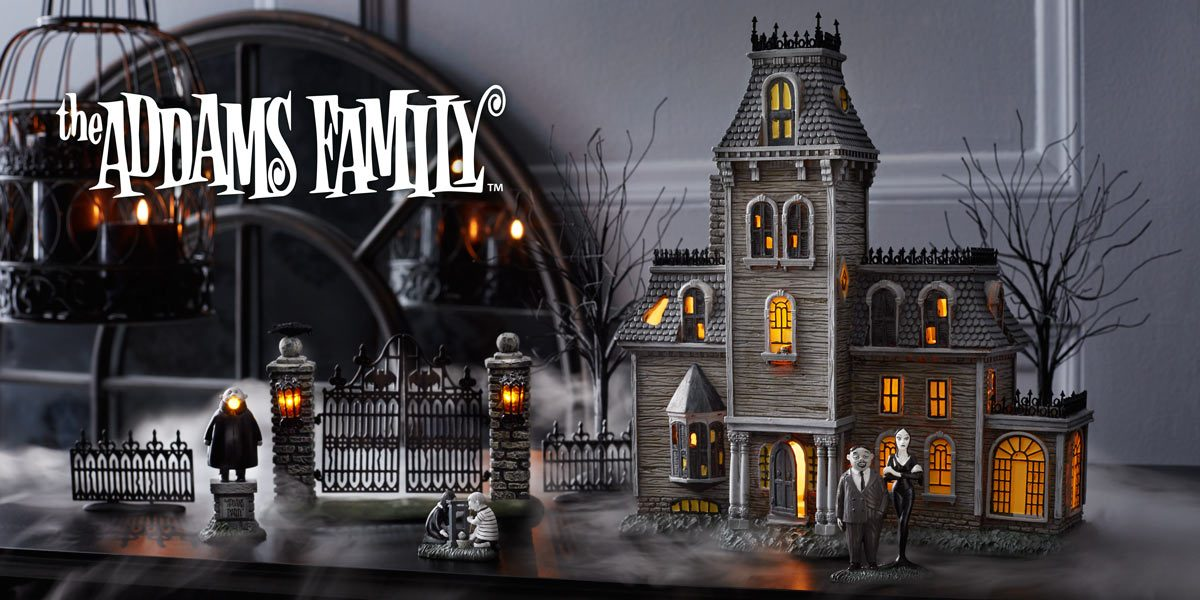 Addams Family-Halloween Village