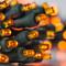 Battery Operated Orange Halloween Lights