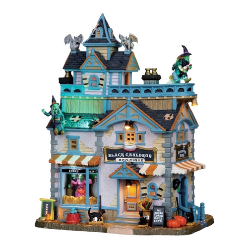 Lemax SpookyTown - Black Cauldron Bootique