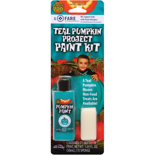 Teal Pumpkin Project䋢 Paint Kit