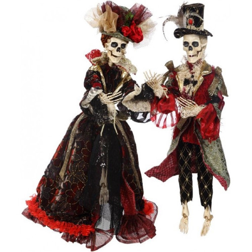 Mr & Mrs Skeleton