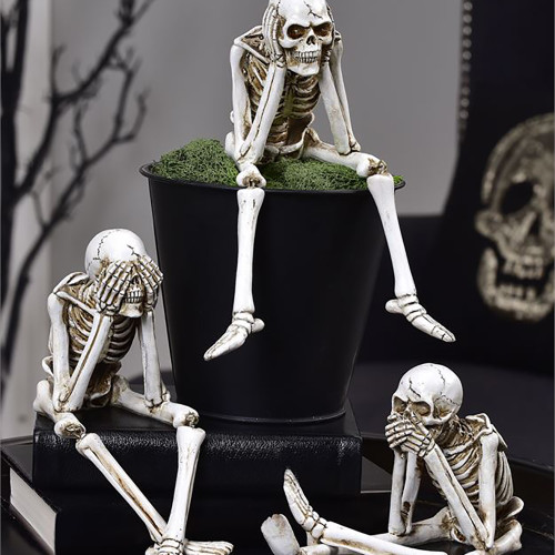 Skeleton Shelf Sitter (Set of 3)
