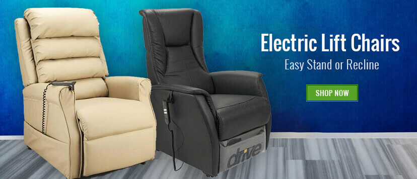 Electric lift chairs make it easier for you to stand or recline. Select from our large range today.