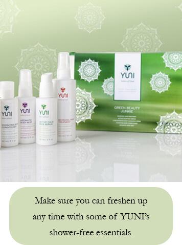 YUNI Beauty- Shower-Free Essentials